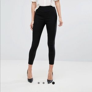 ASOS WORK PANTS -women's suit/tuxedo crop BNWT!!